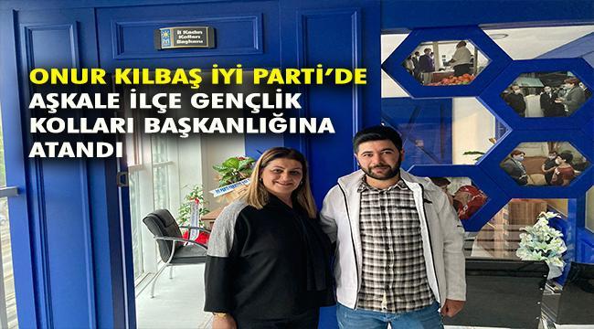 İYİ Parti Aşkale İlçe Gençlik Kollarına Atama