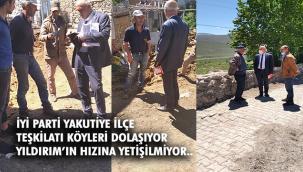 İYİ Parti Köyleri Dolaşıyor