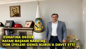 Erzurum Esnaf Sanatkarlar Kredi ve Kefalet Kooperatifi Genel Kurul'a gidiyor