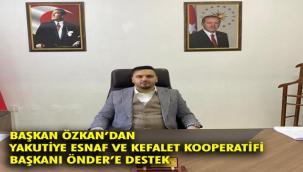 Pasinler Esnaf ve Kefalet Kooperatifi'nden Önder'e destek