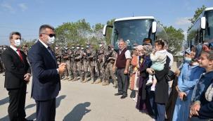 Özel Harekat Polisleri El-Bab bölgesine uğurlandı