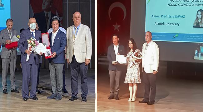 Atatürk Üniversitesinin Fizik Alanındaki Başarıları Ödüllendirildi