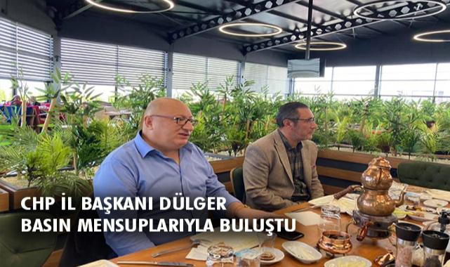 CHP'nin Yeni İl Başkanı Basın'la Buluştu